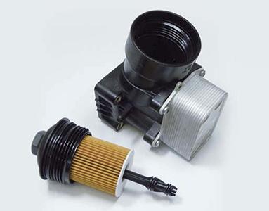 Σχήμα 1: Μονάδα φίλτρου λαδιού με ένθετο φίλτρου λαδιού τύπου OX 388D ECO