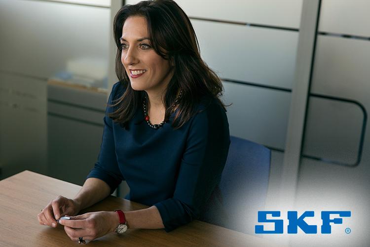 κα Ράνια Πατσιοπούλου, Διευθύνουσα Σύμβουλος της SKF Hellas S.A.
