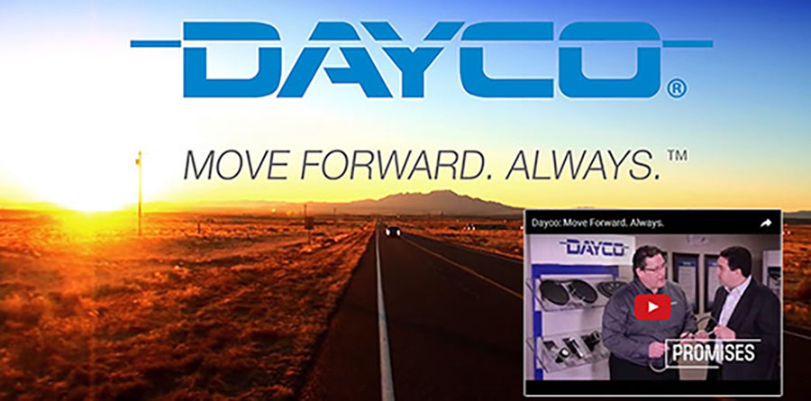 Dayco: Move Forward - Always. [Video]