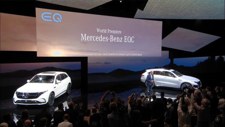 Mercedes Benz: Το ηλεκτρικό SUV EQC έκανε το ντεμπούτο του!