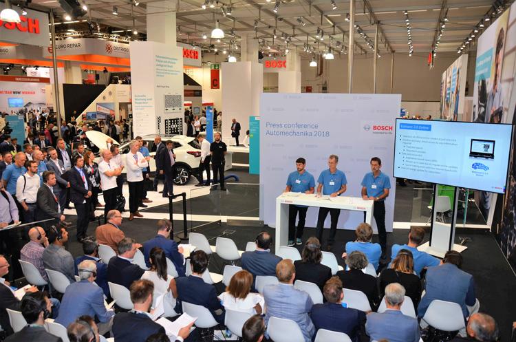 Νέες λύσεις Bosch για τα συνεργεία με ψηφιοποίηση του aftermarket στην Automechanika 2018