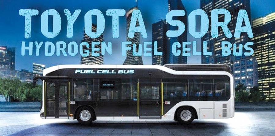Λεωφορείο Υδρογόνου (H2 - Fuel Cell) από την Toyota <p data-wpview-marker=