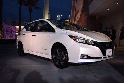 To Nissan Leaf Plus στην έκθεση CES 2019 [video]
